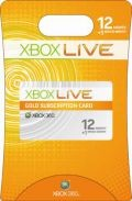 Picture of a 12 month xbox live gold membership. From geekzone.co.nz
