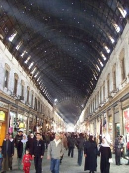 The souq al-hamidiyya-shop after shop after shop.