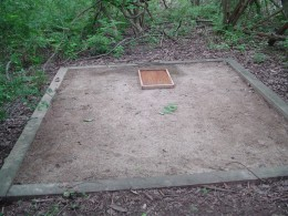 Before volunteering - the sand pit project