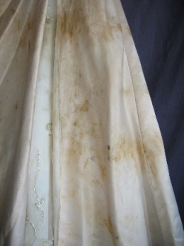 Nicotine Damage On Wedding Dresses 105
