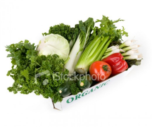 Organic, fresh, raw food is one of the best sources of nutrients.