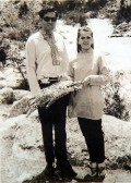 Rajiv with Sonia in England