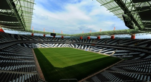 The Nelspruit Stadium or Mbombela Stadium