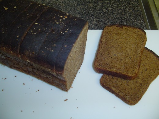 Russian Borodinsky Rye Bread - one of the strongest tasting rye breads