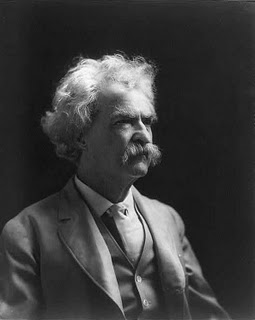 Mark Twain, about to spot another great investment!