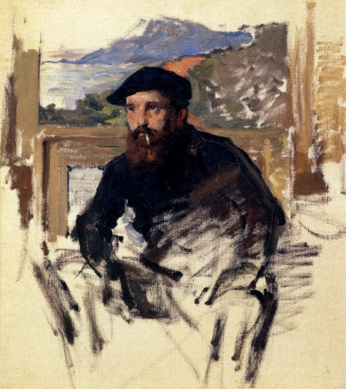 CLAUDE MONET- SELF PORTRAIT
