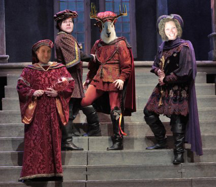 Hamlet Anderson, Rosenpantz and GuildenBee with Lord Jason - Image by RedElf - photo from farm3.static.flickr.com