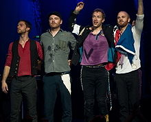 Coldplay, photo credit: wikipedia.com