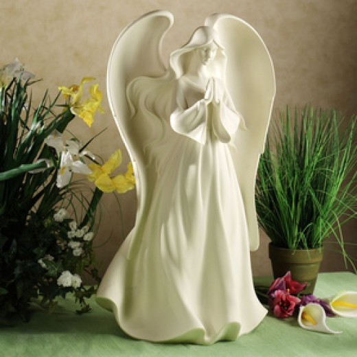 This Praying Angel Table Sculpture Image was found at:    http://www.touchofclass.com/product/e299-001.do?code=CMS03