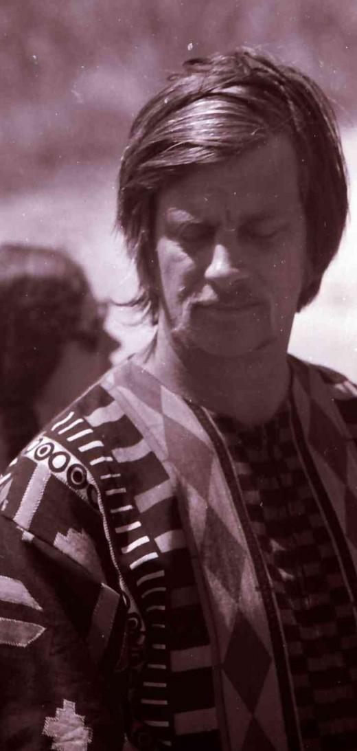 Chris in the Transkei in 1970