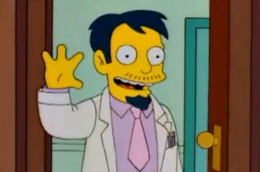 Dr Nick from the Simpsons