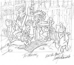 top cat cartoon coloring pages - photo#18