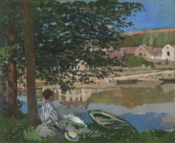 ON THE BANK OF THE SEINE, BENNECOURT (1868)