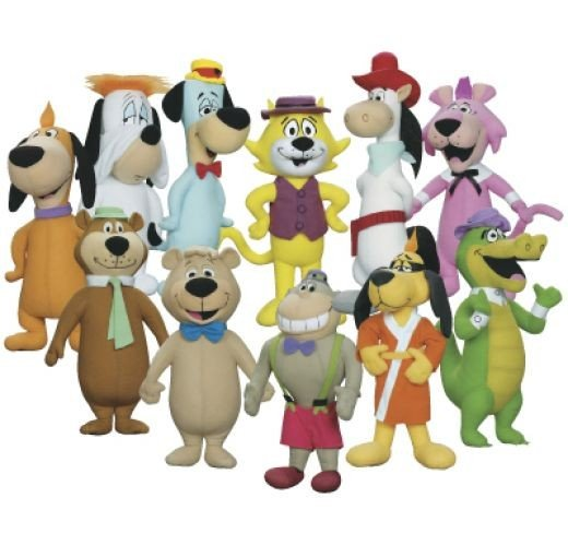Color Picture of Hanna Barbera Cartoon Characters
