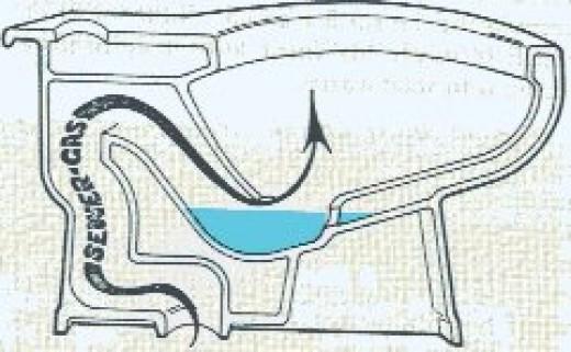 Sewer Gas Through Toilet Trap