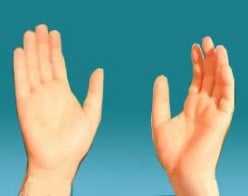 Lifted Up Hands for Worship and Prayer