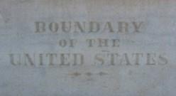 Arizona border sign