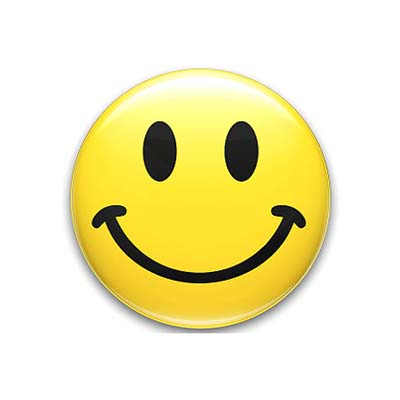 It takes less muscles to smile than to frown