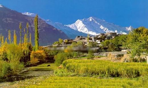 Gilgit Hunza Rakaposhi peak