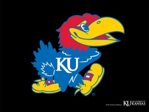 the Kansas Jayhawks landed