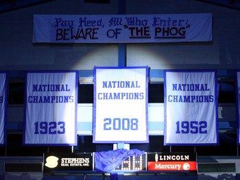 Could KU soon hang another championship banner in Allen Field House?