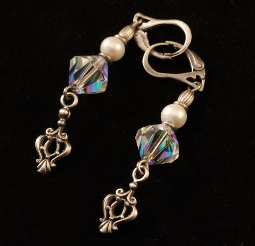 Photo of Leverback Earrings by Kriss Szkurlatowski