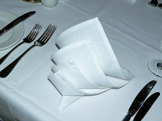 Linen Tablecloths can really spruce up a table.