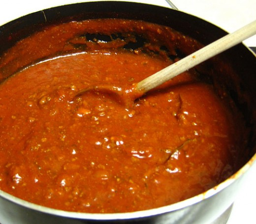 Save money with homemade sauce