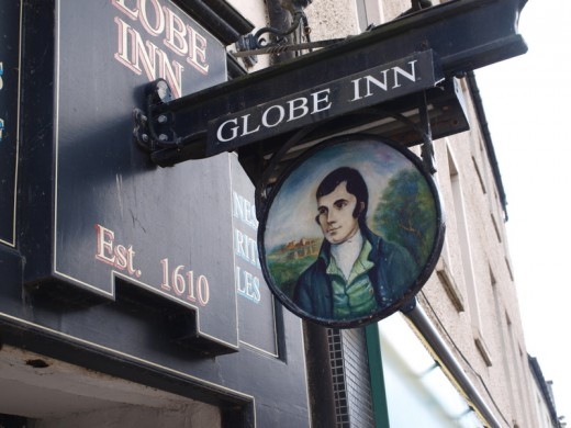 This establishment was 150 years old before Robert Burns made it his own.