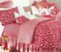 Red Toile Bedding
