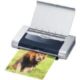 Portable inkjet printer