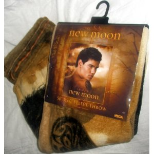 Jacob Black fleece throw blanket