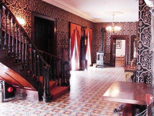Front lobby of Dundurn Castle