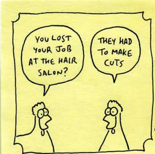 Job loss - no joking matter  source: drivethruhr.com