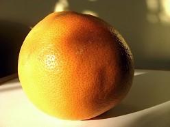 Whole grapefruit / Photo by E. A. Wright