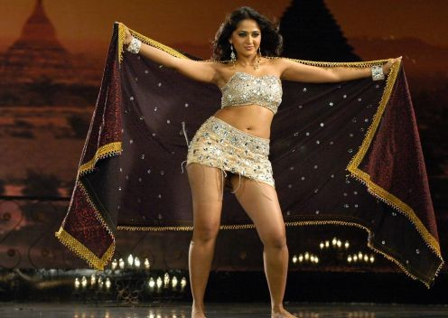 Anushka Shetty Hot Navel and s*xy Thunder Thigh images