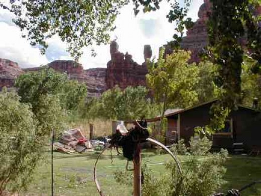 One of more than 100 homes in Supai Village