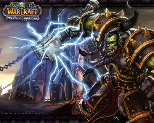 world of warcraft wallpaper orc. WOW Orc Wallpaper