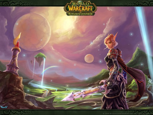 blood elf wallpaper. Blood Elf Wallpaper