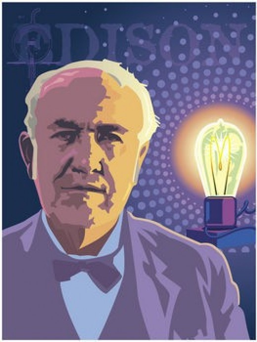 Thomas Alva Edison the great American inventor