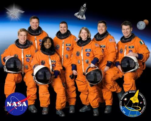 Homo sapiens astronautus (Courtesy of nasa.gov)