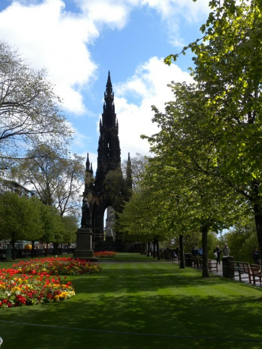 The Scott Monument - magnificant!