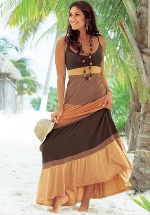 Model Sexy Women39s Chiffon Summer Boho Long Maxi Evening Party Summer Beach
