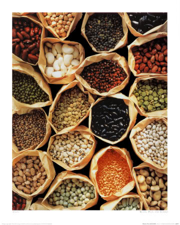 Beans peas lentils legumes