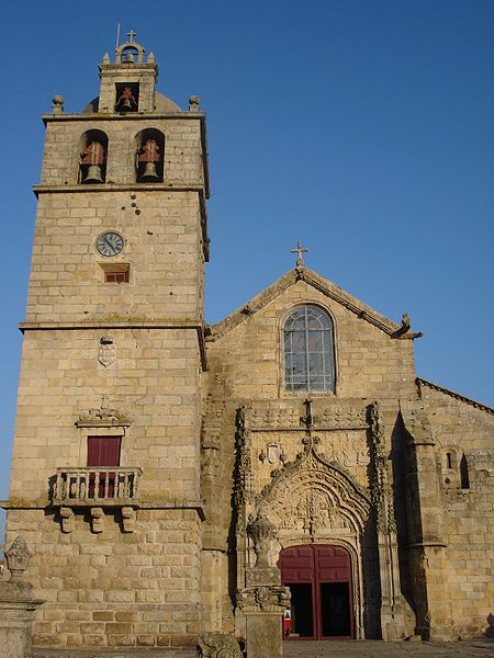 The Church of St. John the Baptist,the main church of Vila do Conde