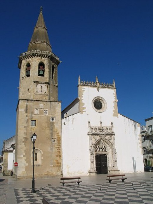 Church of S. Joo Baptista, Tomar