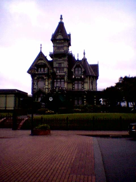 The Carson Mansion was built by the area's richest lumber tycoon William Carson in 1884.