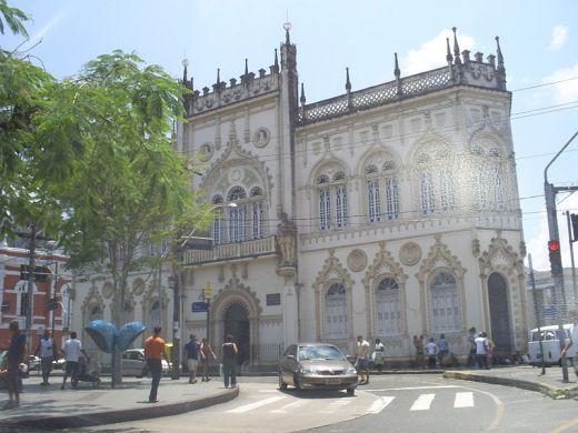 Portuguese Reading,Salvador,Bahia, Brazil neo-manueline