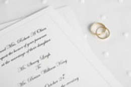 Select the perfect wedding invitation for you, whether formal, semi-formal or informal.