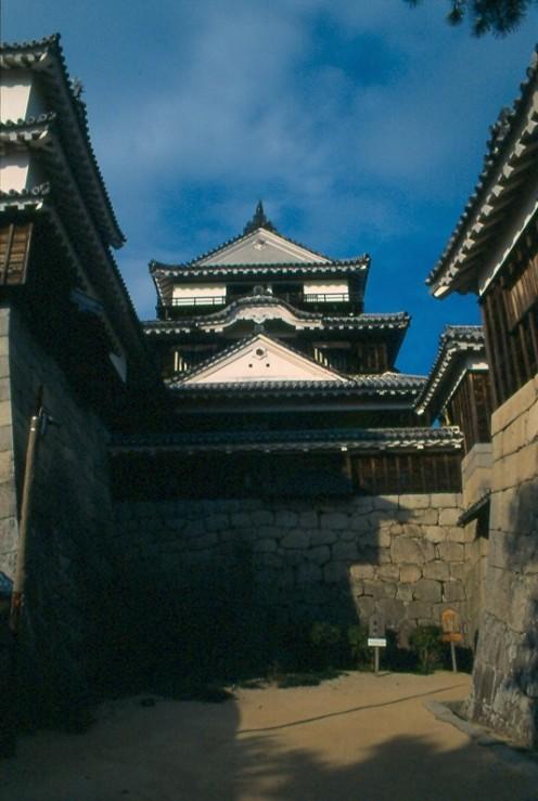 Matsuyama Castle, Matsuyama, Shikoku. One of twelve in Japan with an orignal tenshu.